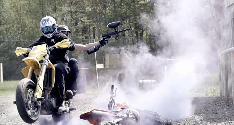 Pimpstar Paintball vs Motocross Mayhem