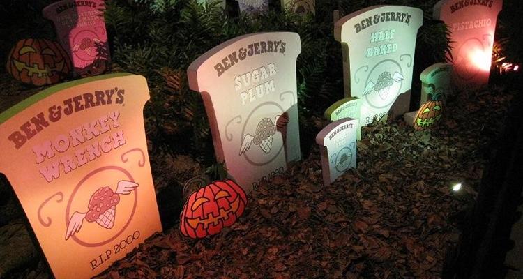 Ben and Jerry graveyard