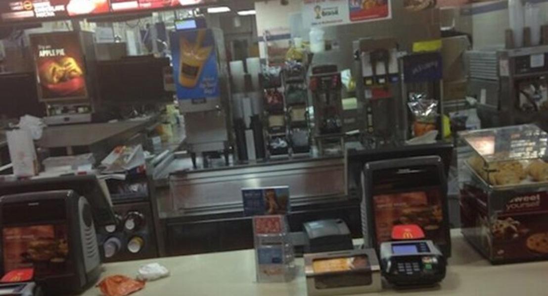 Alone in a McDonald