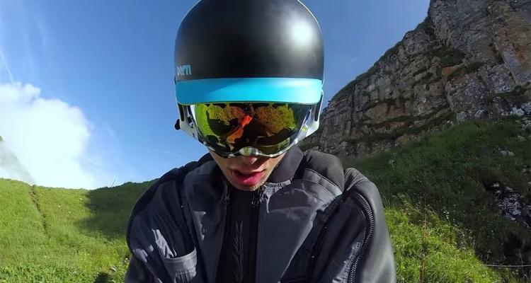 Majestic Wingsuit Flight in Switzerland 1
