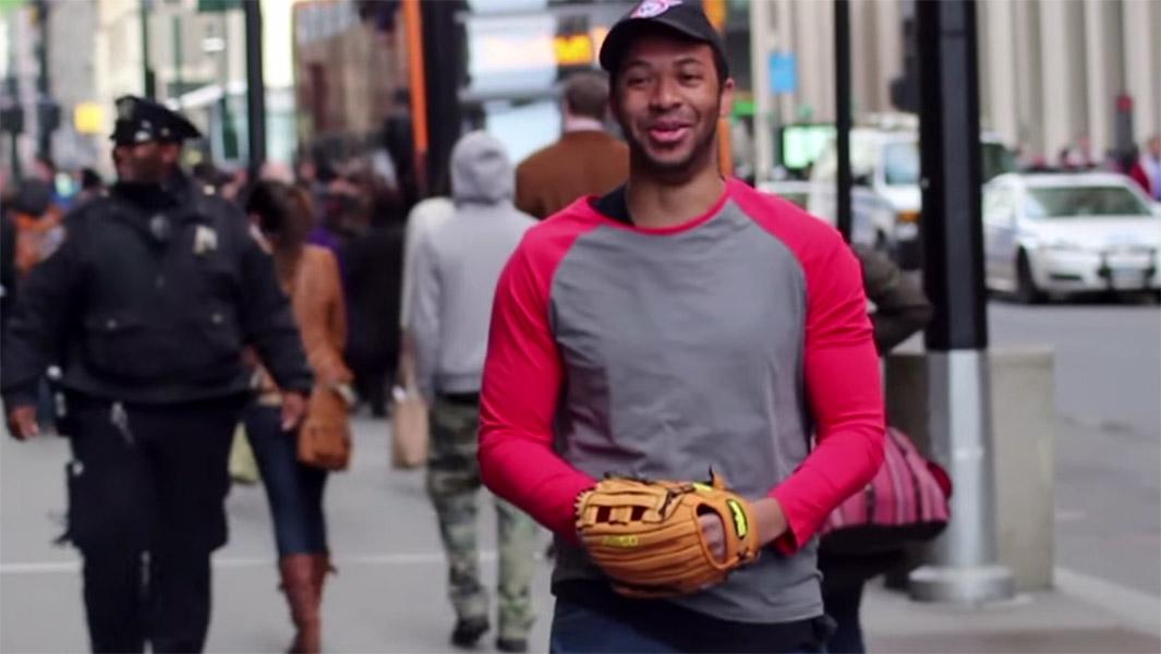 Pop Fly Baseball Prank