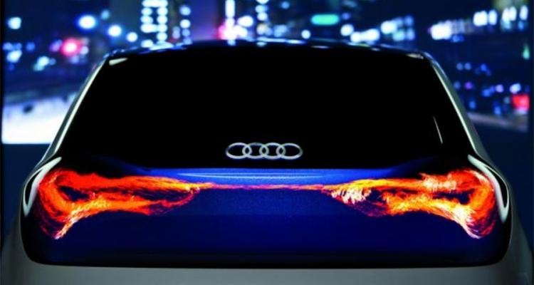 Audi Lighting The Swarm Badchix Magazine