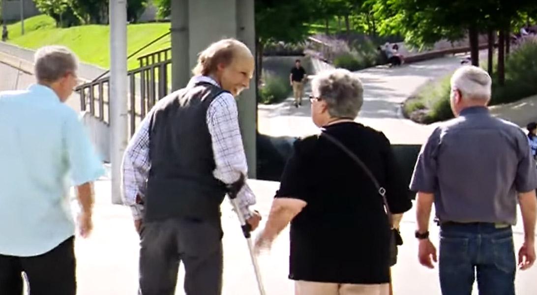 Grandpa Skate Prank