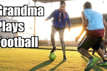 Grandma Soccer