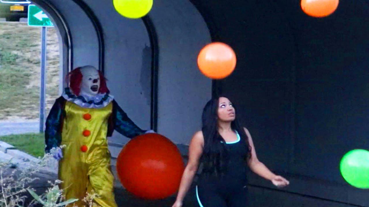 Real Life Killer Clown Halloween Prank Badchix Magazine