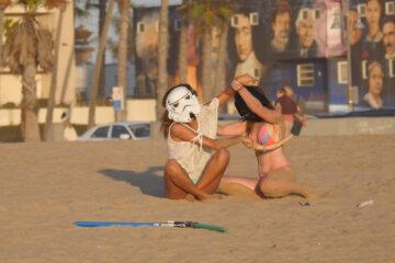 Blindfolded Girls
