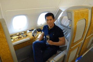first class flight