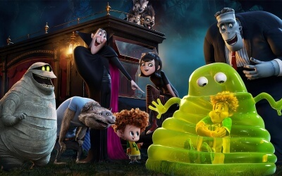 Hotel Transylvania 2 bluray monster hit