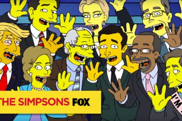 The Debateful Eight with The Simpsons