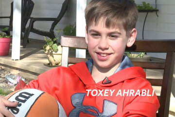Toxey Ahrabli - Boy gets surprise after no one came for his birthday