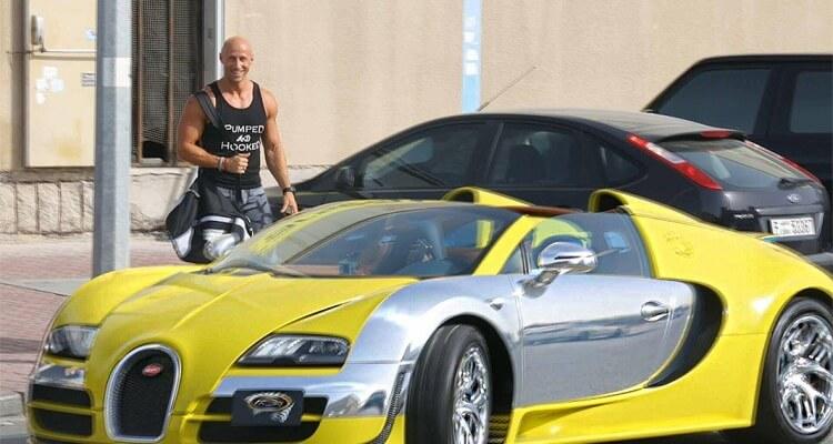 Bugatti uber driver