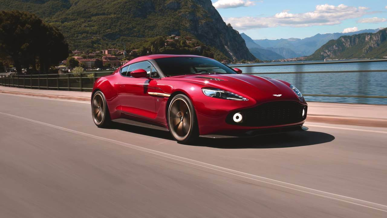Awesome video of the Aston Martin Vanquish Zagato