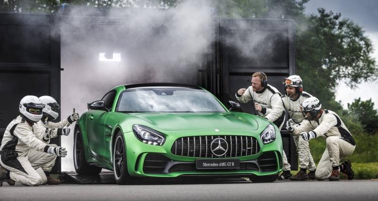 The Mercedes AMG GT R