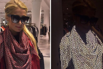 The first Anti-Paparazzi Scarf 5