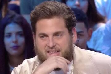 Weather presenter mocks Jonah Hill on French TV