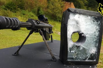Will Bulletproof Glass Stop A .50 Cal? 1