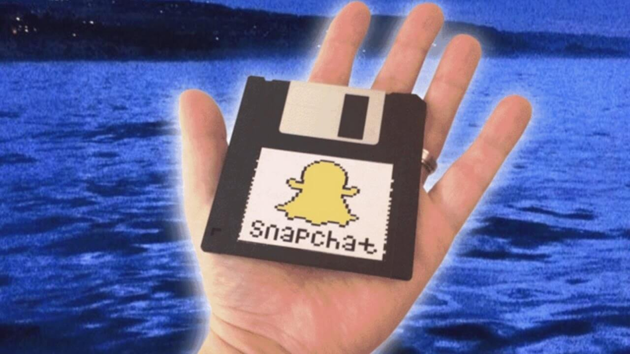 What if Snapchat exist in the 90's?