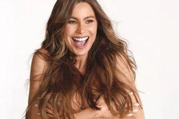 Sofia Vergara naked in Women's Health Magazine