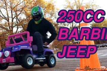 Dudes Build A 250cc Power Wheels Kids Barbie Jeep 1