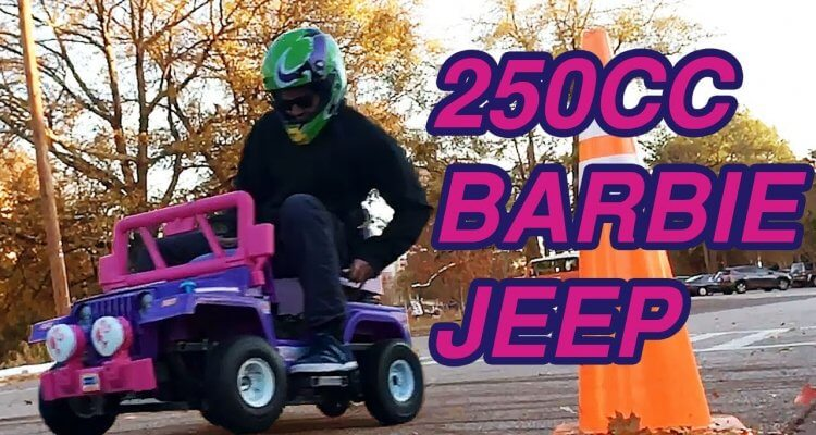 Dudes Build A 250cc Power Wheels Kids Barbie Jeep 1