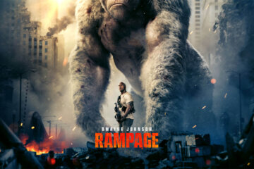 "Dwayne Johnson headlines the action adventure ""Rampage"" - Trailer 2 has just been Released! 1"