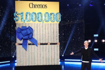 Ellen and Cheerios Gave Away $1 Million dollars to Her Unsuspecting Studio Audience Members 1