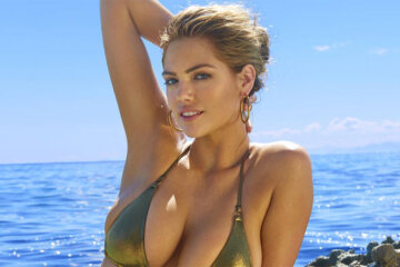 Things got a little rocky on Kate Upton 1