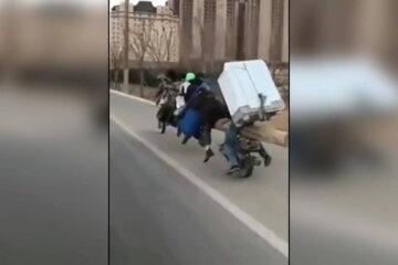 The craziest transport in China