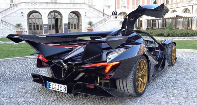 Apollo IE Hypercar Start Up and that's Pretty Insane 1