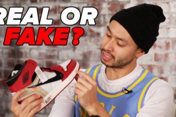 Sneakerheads Try To Spot The Fake Jordans 1
