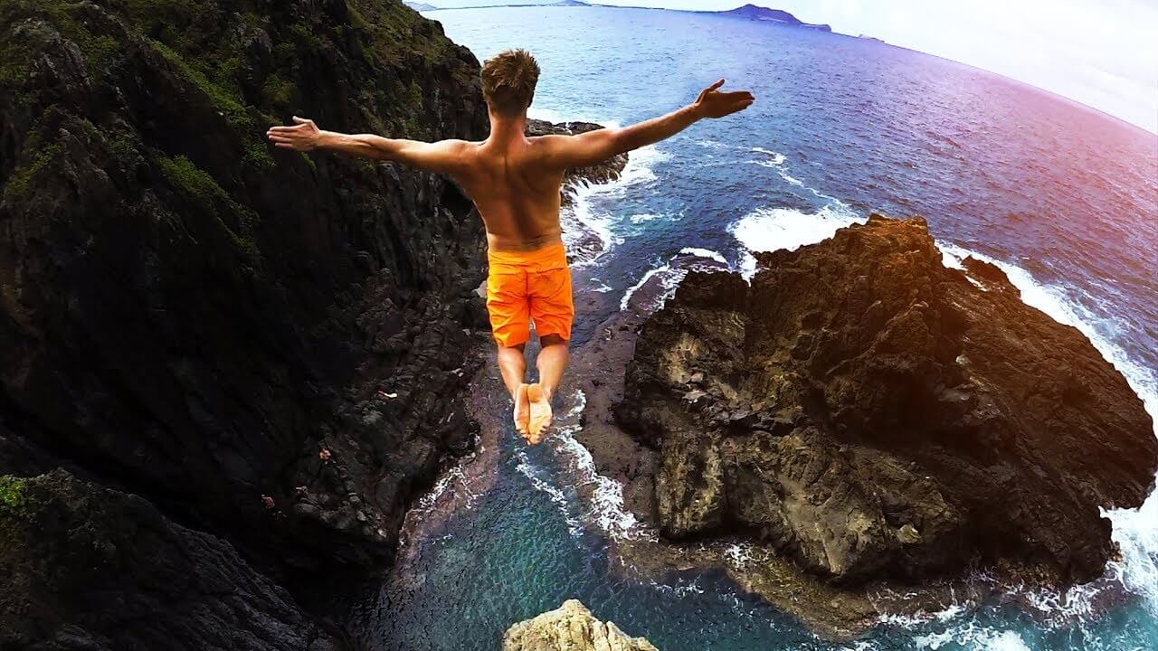 Cliff Jumping Hawaii