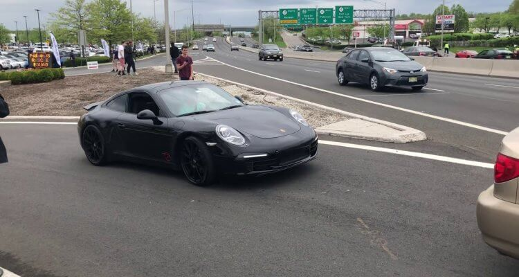 How not to use the Porsche 911's launch control system 1