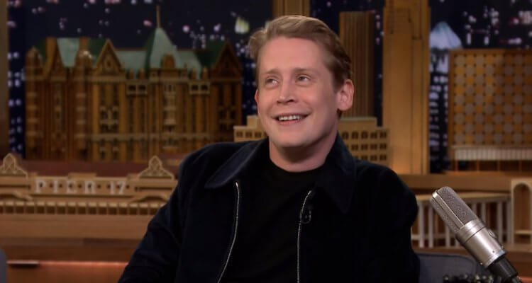 "Macaulay Culkin admits to having watched Home Alone when his girlfriend asked, and he has Jimmy vote in his bunnyears.com poll to legally change his middle name to one of five options, including ""TheMcRibIsBack."""