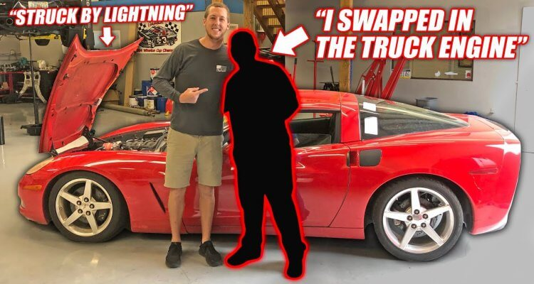 Cleetus McFarland found the auction Corvette's previous owner, and his story is insane.