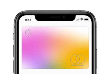 A credit card created by Apple 1