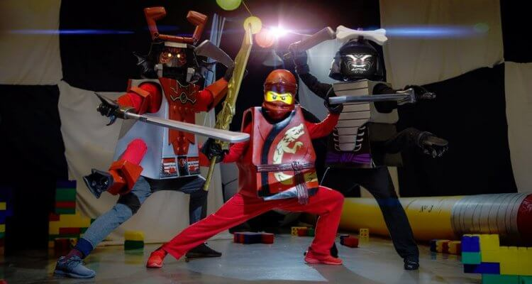 Lego Battle in Real Life 1