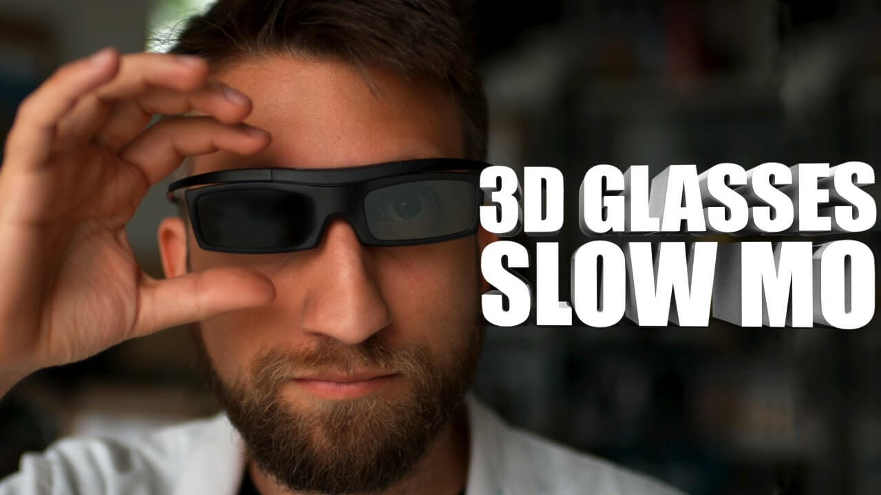 How does a 3D TV work? Let's find out in Super Slow Motion